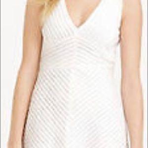 Ann Taylor Amazing White Cotton Dress! New!